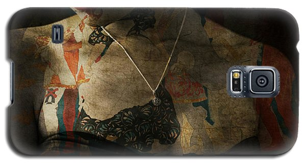 Galaxy S5 Case featuring the digital art Every Picture Tells A Story by Paul Lovering