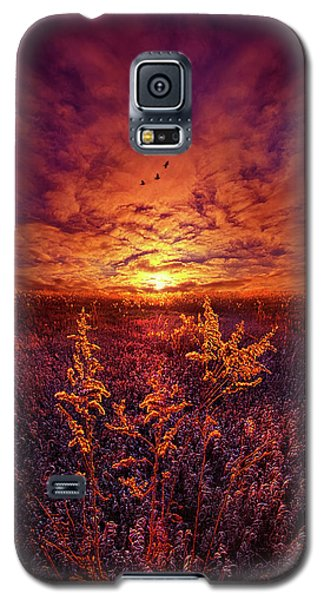Galaxy S5 Case featuring the photograph Every Sound Returns To Silence by Phil Koch