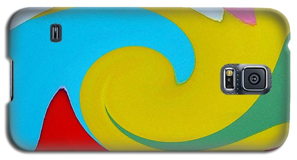 Everybody Has A Cousin In Miami Two Galaxy S5 Case by Dick Sauer