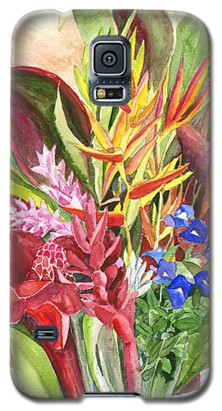 Everywhere There Were Flowers Galaxy S5 Case