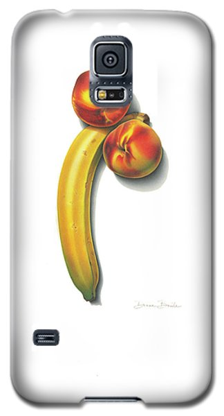 Eve's Favorite Fruit Galaxy S5 Case by Donna Basile