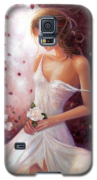 Evocative Scent Of A Summer Rose Galaxy S5 Case by Michael Rock