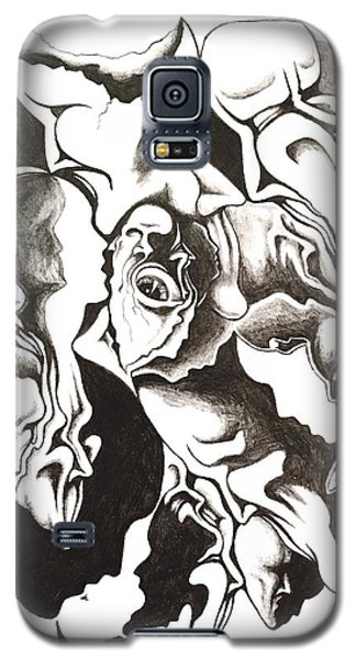 Evolution In Mind  Galaxy S5 Case by Michael  TMAD Finney