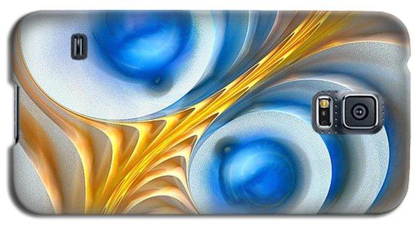 Galaxy S5 Case featuring the digital art Exaggeration by Anastasiya Malakhova
