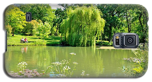 Exbury Garden Galaxy S5 Case by Katy Mei
