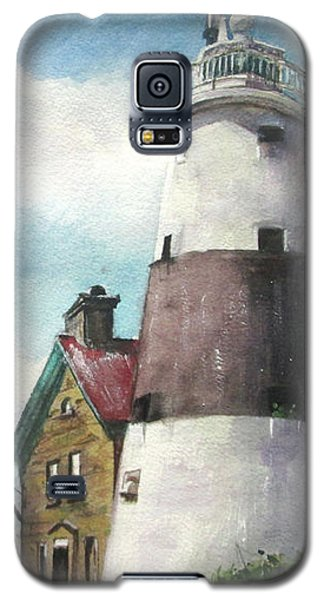 Execution Rocks Lighthouse Galaxy S5 Case by Susan Herbst