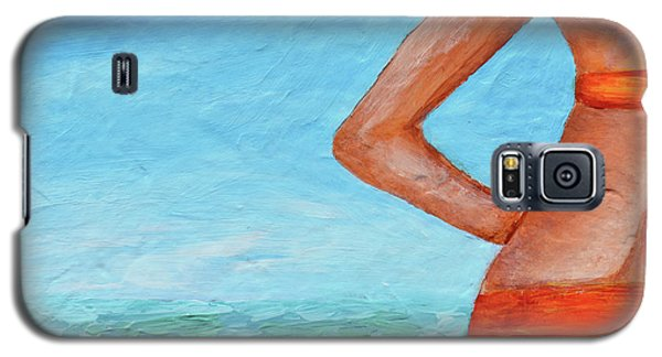 Exhale Softly Galaxy S5 Case by Donna Blackhall