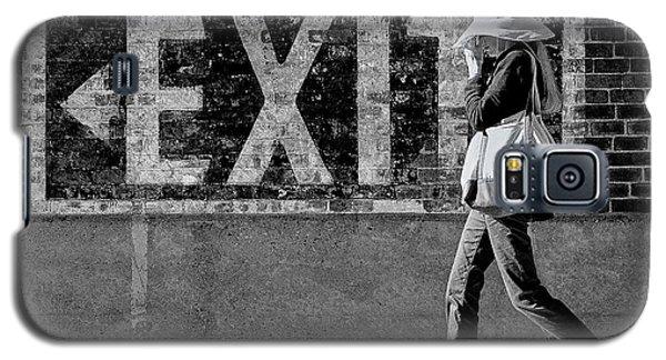 Exit Bw Galaxy S5 Case