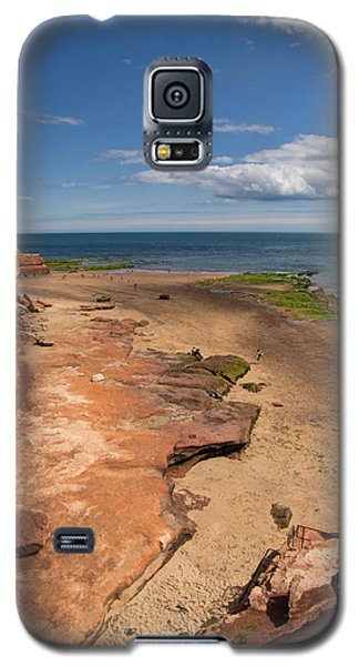 Exmouth Near Orcombe Point Galaxy S5 Case