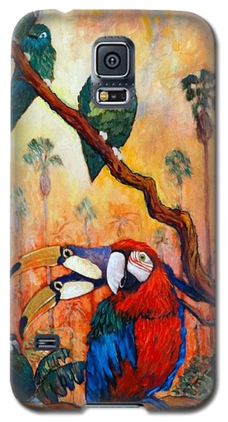 Exotic Birds Of South America  Galaxy S5 Case by Charles Munn