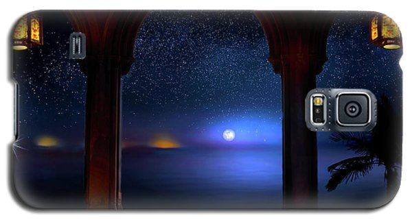 Galaxy S5 Case featuring the photograph Exotic Night by Mark Andrew Thomas