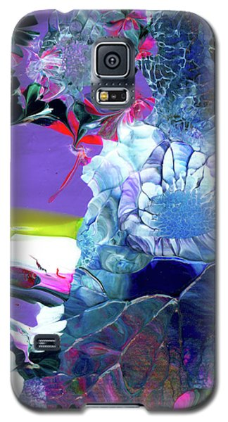 Exotic White Rose Island Galaxy S5 Case