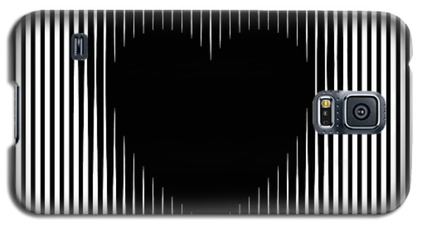 Expanding Heart Galaxy S5 Case