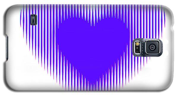 Expanding - Shrinking Heart Galaxy S5 Case