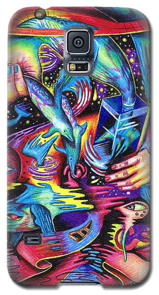Expansive Dynamics Of The Subconscious Galaxy S5 Case
