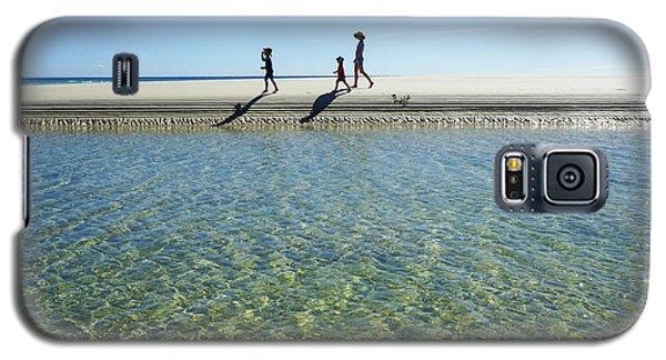 Exploring A Tidal Beach Lagoon Galaxy S5 Case