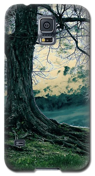 Galaxy S5 Case featuring the digital art Exposed Roots by Misha Bean