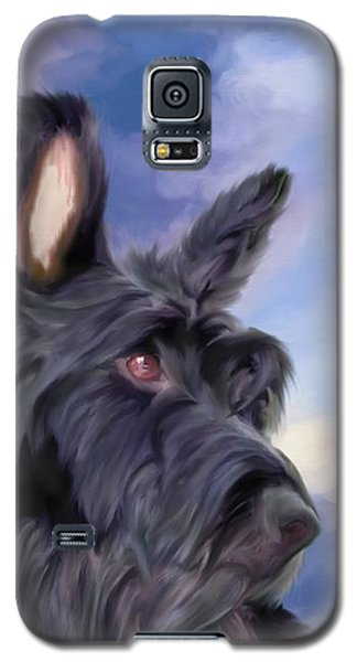 Expression Is Everything Scottish Terrier Dog Galaxy S5 Case