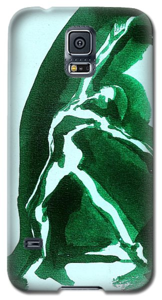 Galaxy S5 Case featuring the drawing Expressions by Denise Fulmer