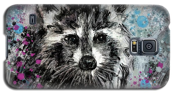 Expressive Raccoon Galaxy S5 Case