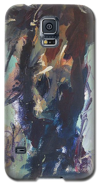 Galaxy S5 Case featuring the painting Expressive by Robert Joyner