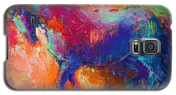 Expressive Stallion Painting By Galaxy S5 Case