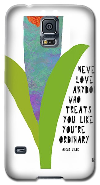 Galaxy S5 Case featuring the painting Extraordinary Love by Lisa Weedn