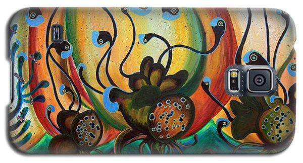 Extraterrestrial Flora Galaxy S5 Case