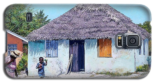 Exuma Thatch Hut Galaxy S5 Case
