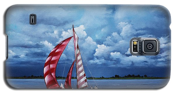 Galaxy S5 Case featuring the painting Eye Candy by Rick McKinney