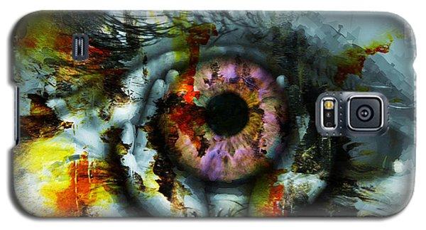 Eye In Hands 001 Galaxy S5 Case