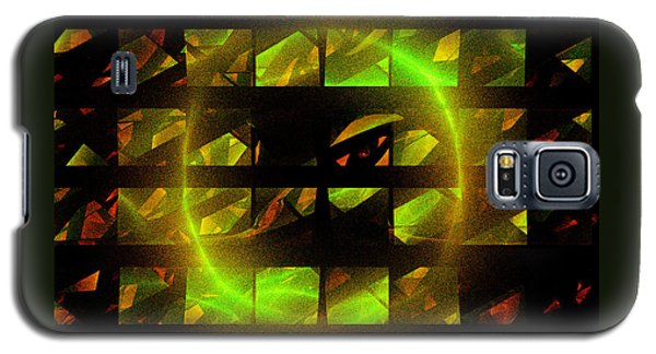 Galaxy S5 Case featuring the digital art Eye In The Window by Victoria Harrington