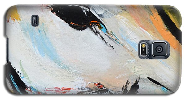 Galaxy S5 Case featuring the painting Eye Of The Beholder by Cher Devereaux
