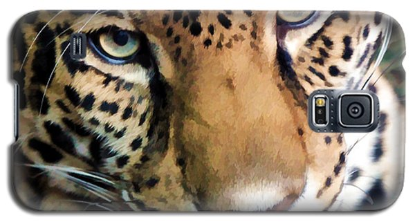 Eye Of The Leopard Galaxy S5 Case by Athena Mckinzie