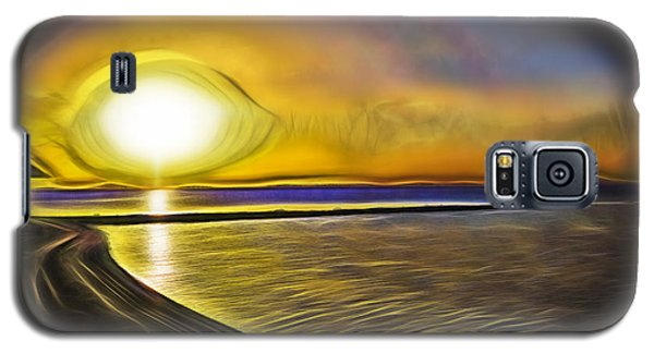 Galaxy S5 Case featuring the photograph Eye Of The Sun by Scott Carruthers