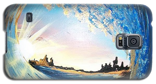 Eye Of The Wave Galaxy S5 Case