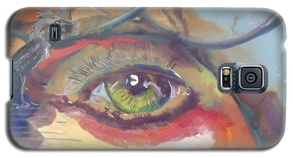 Eye See A Bird Galaxy S5 Case
