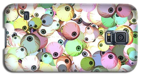Eyeballs Galaxy S5 Case by Methune Hively