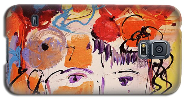 Eyes And Flowers Galaxy S5 Case