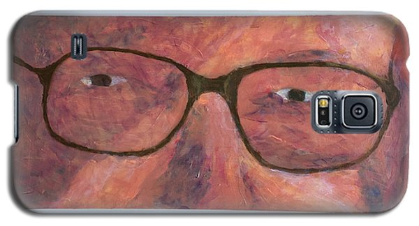 Galaxy S5 Case featuring the painting Eyes by Donald J Ryker III