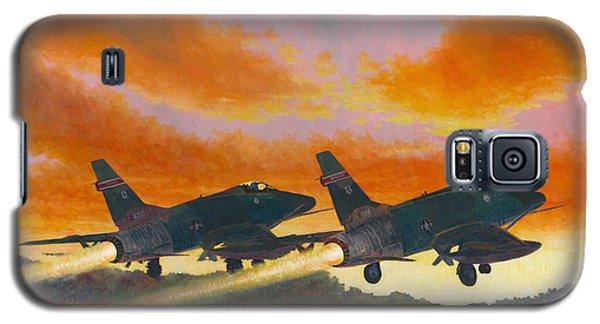 F-100d's Missouri Ang At Dusk Galaxy S5 Case