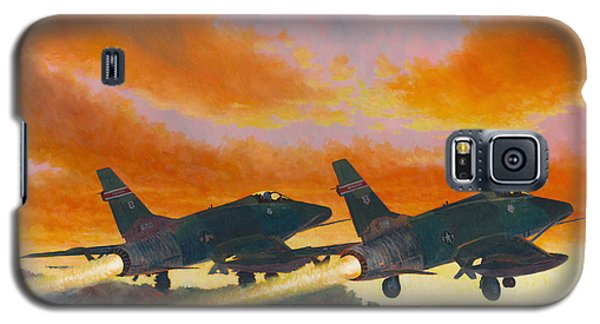 F-100d's Missouri Ang At Dusk Galaxy S5 Case