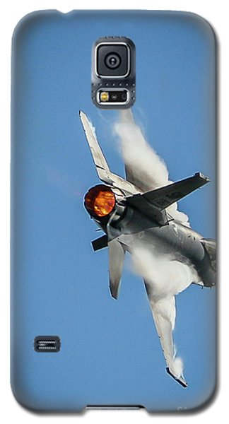 F-16 Banks Right Galaxy S5 Case