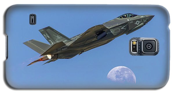 F-35 Shoots The Moon Galaxy S5 Case