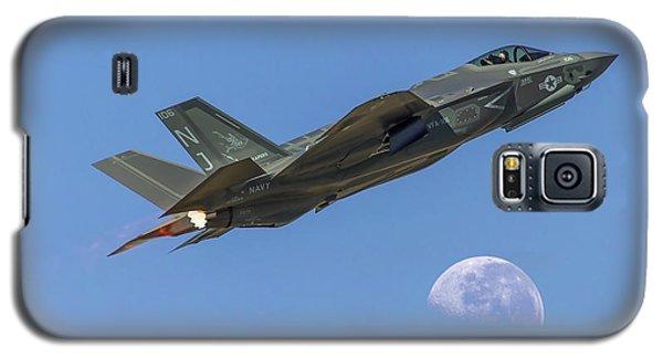 F-35 Shoots The Moon Galaxy S5 Case