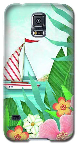F Is For Flamingo Galaxy S5 Case