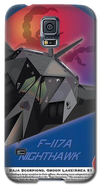 F117a Nighthawk Galaxy S5 Case by Kenneth De Tore