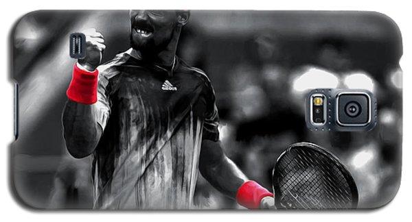 Fabio Fognini Galaxy S5 Case by Brian Reaves
