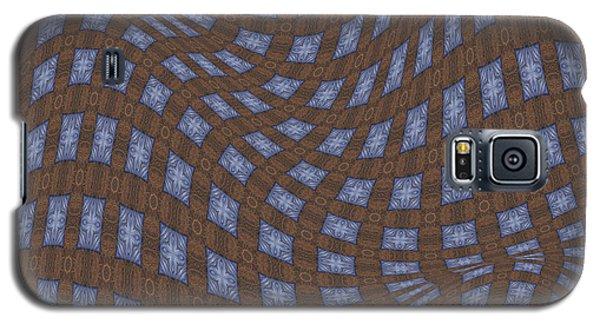 Galaxy S5 Case featuring the digital art Fabric Design 17 by Karen Musick