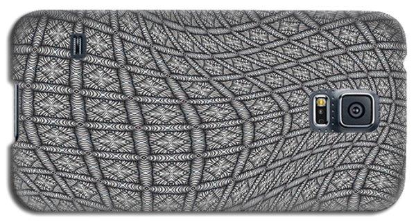 Galaxy S5 Case featuring the digital art Fabric Design 19 by Karen Musick